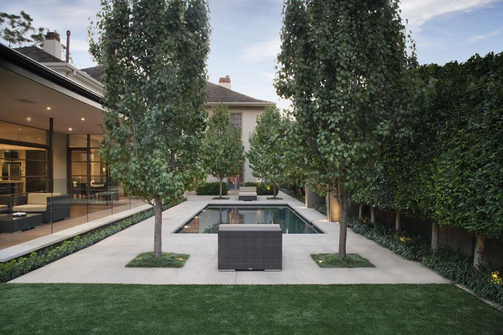 Jack Merlo Design Traditional Range Devon Creswick Pool Coping 70mm Square Edge 4