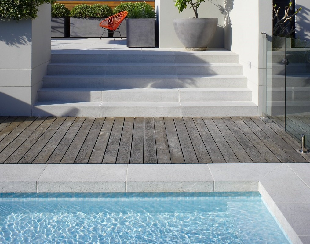 Secret Gardens Sydney Granite Range Vega Pavers Dropdown Pool Coping Steps1