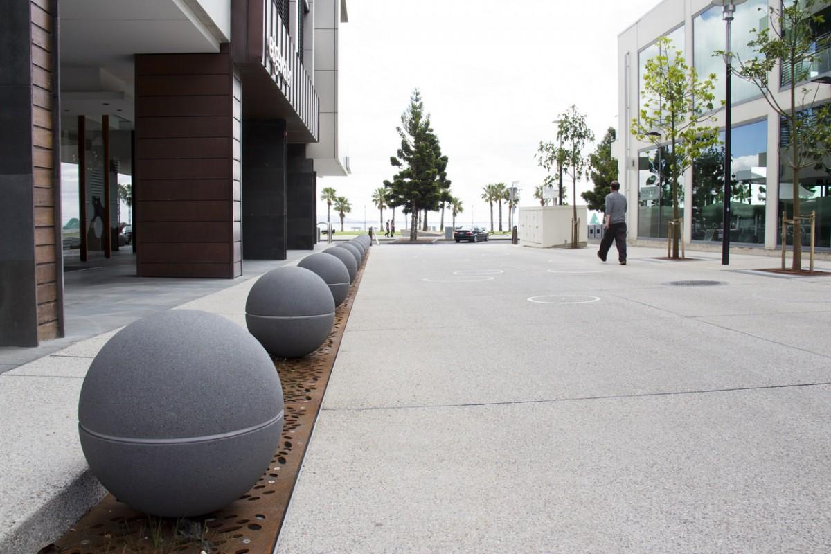 geelong city council spheres led lights granite range mimosa 3