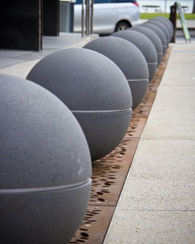 geelong city council spheres led lights granite range mimosa 91