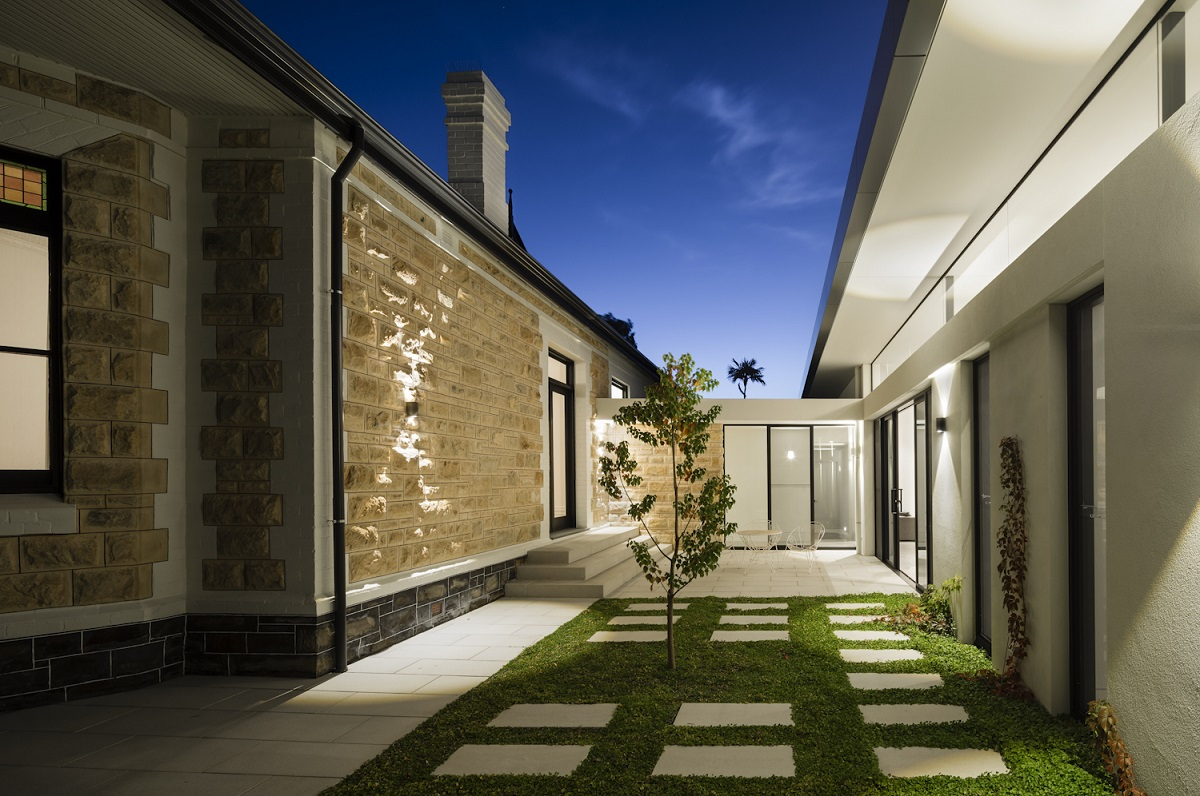 WAX Design Proske Architects Polgreen Landscaping Granite Range Vega Paving Steppers 3